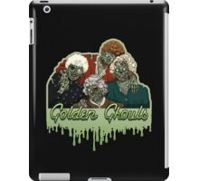 Golden Ghouls iPad Case/Skin