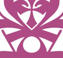 Typo Samurai - Purple Sticker