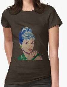 Audrey in Color Womens Fitted T-Shirt