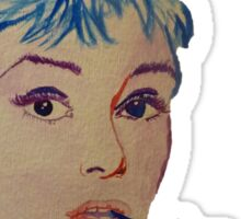 Audrey in Color Sticker