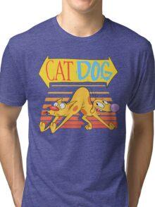 CatDog Sunrise! Tri-blend T-Shirt