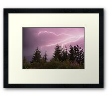 The Raw Power of Mother Nature!  Framed Print