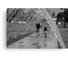 I love you Daddy Canvas Print
