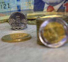 Five cents Peruvian by Luis Fernando Del Águila Mejía