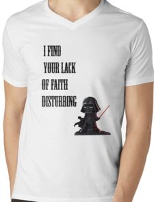 Darth Vader Quote Mens V-Neck T-Shirt