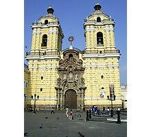 Saint Francis Monastery of Lima Photographic Print