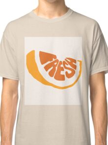 Fresh Orange Classic T-Shirt