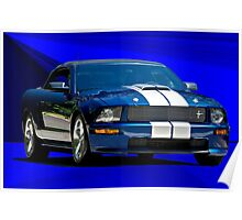 Shelby Mustang Cobra Poster