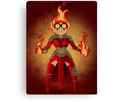 Princess Pyromancer Canvas Print