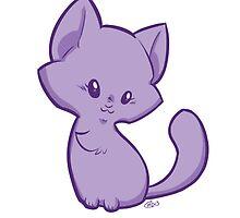 Precious Kitten White BG by RileyOMalley