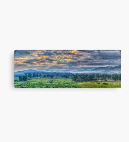 Upper Murray Glory - Walwa Victoria Australia - The HDR Experience Canvas Print
