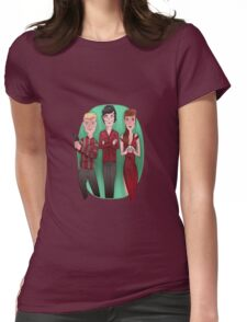 Sherlock's Gang Womens Fitted T-Shirt