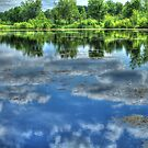 Reflections of a Summer Sky by Jimmy Ostgard