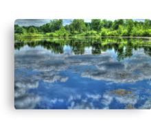 Reflections of a Summer Sky Canvas Print