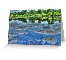 Reflections of a Summer Sky Greeting Card