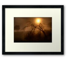 Glow - Jingelic NSW - The HDR Experience Framed Print