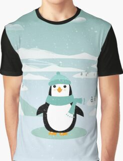 AFE Christmas Penguin Graphic T-Shirt