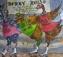 Fowl Play Series: Roller Derby Chicks by Jeanne Vail