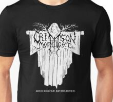 Crimson Moonlight Unisex T-Shirt