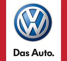 VW Logo Das Auto by theoneandonlypd
