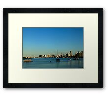 The Gold Coast Broadwater Framed Print