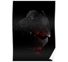 Paint Splatter TMNT : Shredder Poster