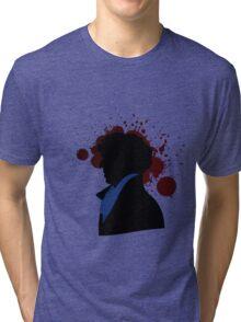 Fallen Sherlock (light) Tri-blend T-Shirt