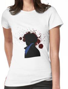 Fallen Sherlock (light) Womens Fitted T-Shirt
