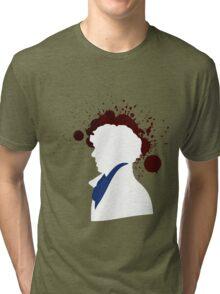 Fallen Sherlock (dark) Tri-blend T-Shirt