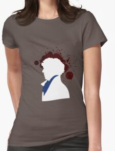 Fallen Sherlock (dark) Womens Fitted T-Shirt