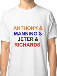 New York sports(NYK, NYG,NYY, NYR) Classic T-Shirt