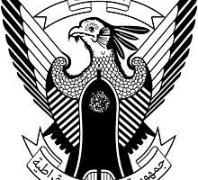 Emblem of Democratic Republic of Sudan, 1970-1985 by abbeyz71