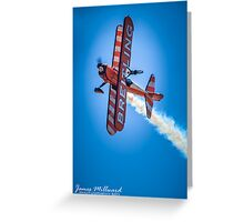 Breitling Wing Walker - March 2013 Greeting Card