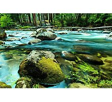 Merced River Yosemite National Park Photographic Print