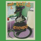 Rat in me kitchen by bonchustown