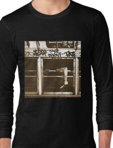 1970s Subway Ride Long Sleeve T-Shirt