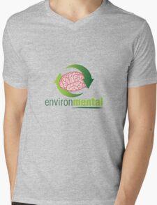 EnvironMental — Renewal Mens V-Neck T-Shirt