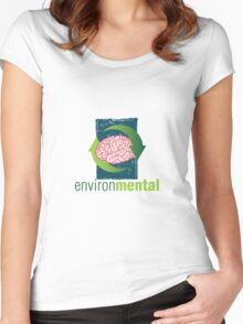 EnvironMental — Renewal Grunge Women's Fitted Scoop T-Shirt