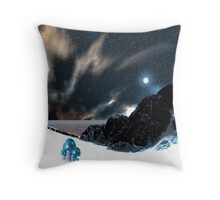 Snow Crop Throw Pillow