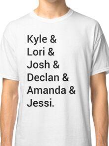 Kyle XY Jet Set Classic T-Shirt