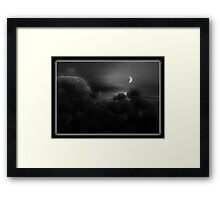 ©DAThe Coastal Broccoli I-A Monochrome Framed Print