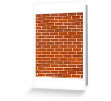Bricks! Greeting Card