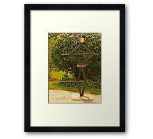 Pot Head Engineer Framed Print