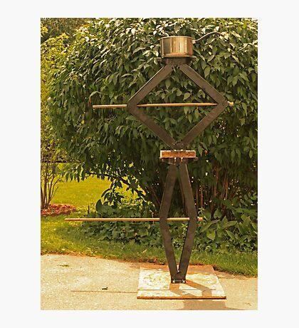 Pot Head Engineer Photographic Print