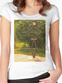 Pot Head Engineer Women's Fitted Scoop T-Shirt