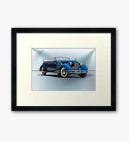 1934 Cadillac Convertible Sedan II Framed Print