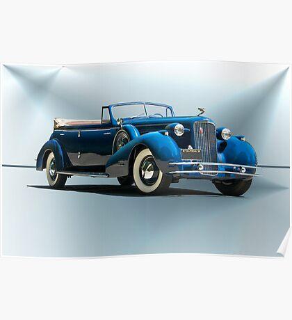 1934 Cadillac Convertible Sedan II Poster