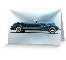 1934 Cadillac Convertible Sedan I Greeting Card