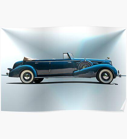 1934 Cadillac Convertible Sedan I Poster