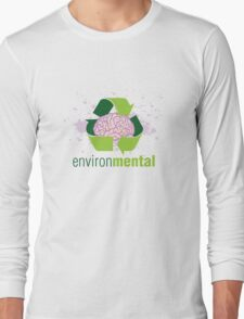 EnvironMental — Recycle Girls Long Sleeve T-Shirt